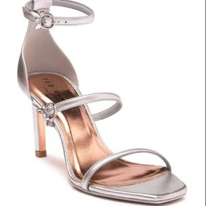 Ted Baker London Lanoral Metallic Strappy Sandal
